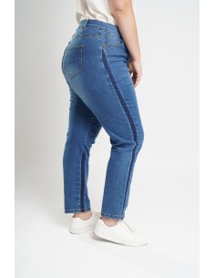 Jeans 7-8 effet used grande...