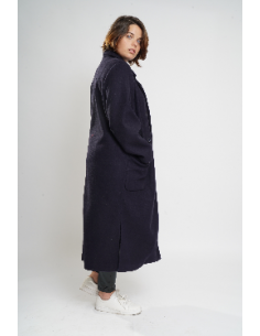 Manteau long oversize